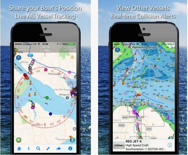 Boat Beacon app