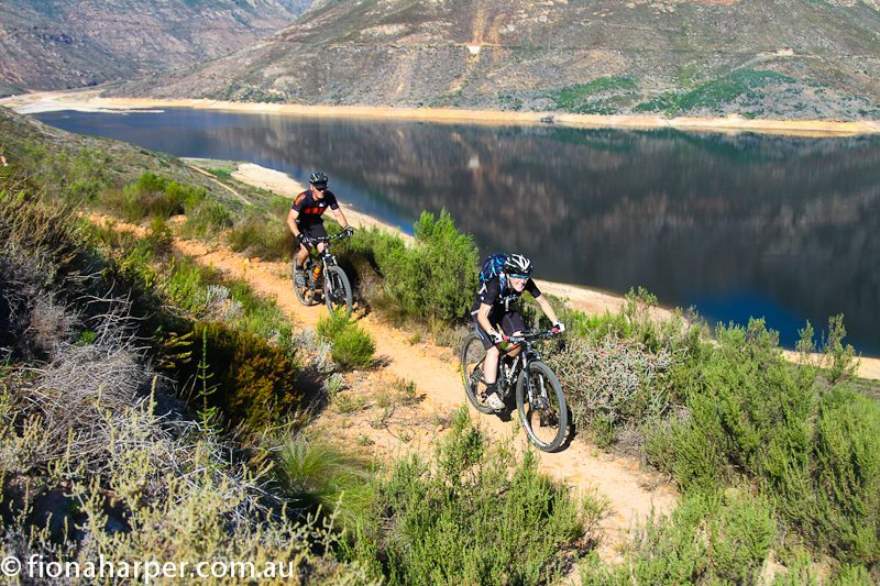 Riding Franschhoek MTB trails