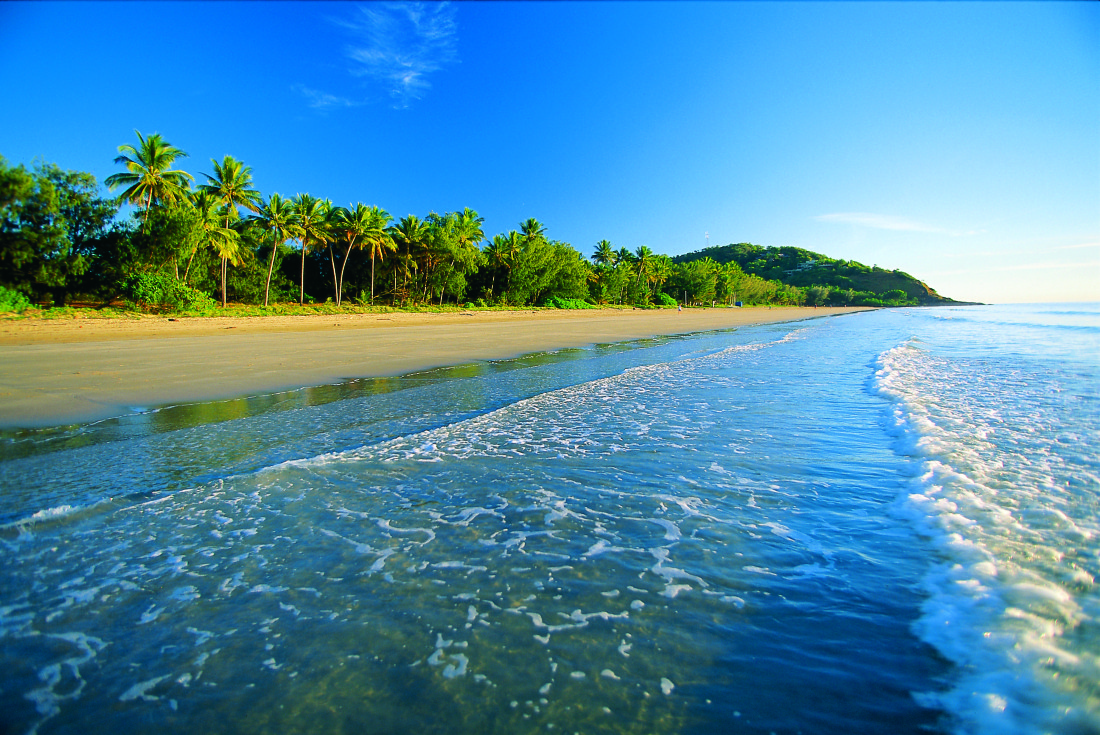 Four Mile Beach Port Douglas. Photo Tropical Tourism North QLD