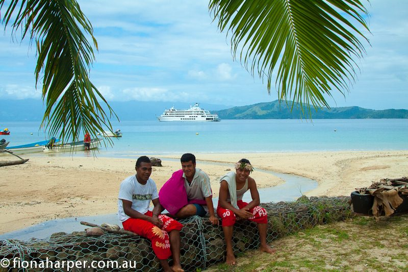 Captain Cook Cruises are an excellent way to visit outlying Fijian villages