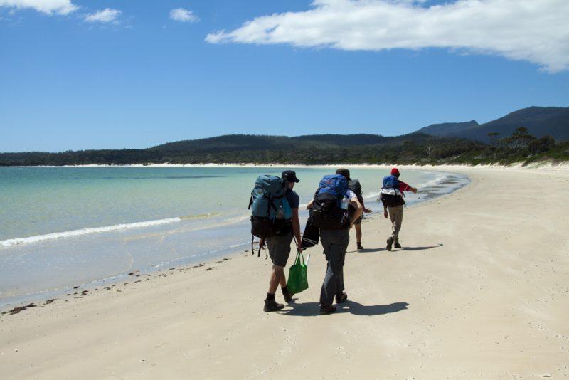 Hiking Maria Island TAS Australia