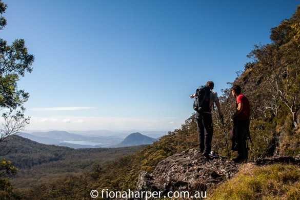 Luxury hiking on Queensland's Scenic Rim Trail