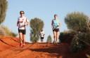 Running around the Rock at Uluru