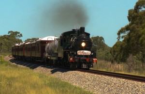 Trainspotters and Queensland rail travel