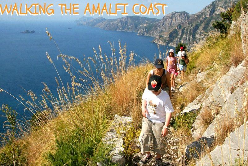 Walk the Amalfi Coast. Photo Sue Gough Henly