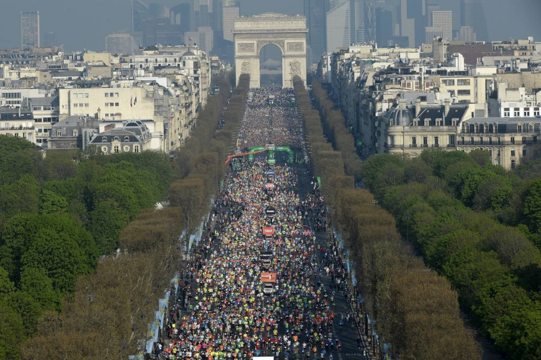 Photo courtesy Paris Marathon