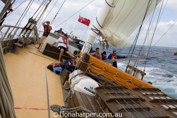This is sailing. Get on board!