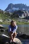Louise Southerden in California's Sierra Nevada - low res