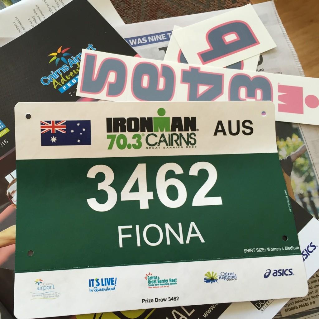 Fiona Harper travel writer Cairns Ironman 70.3