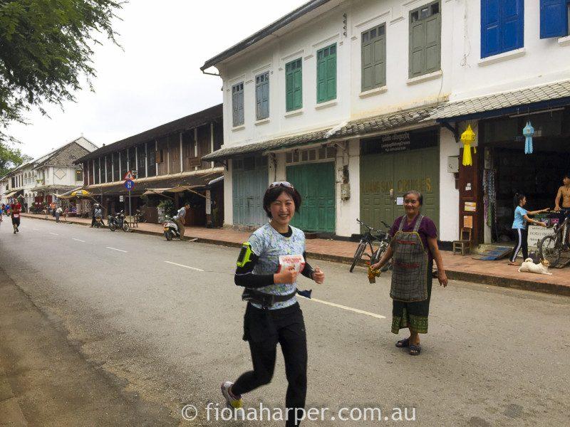 Luang Prabang half marathon, Laos