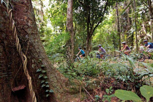 Mountain biking north Queensland. Photo Tourism Events Queensland