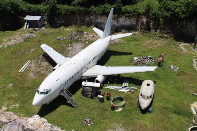 Abandoned plane Bali | Source Google Maps | Travel Boating Lifestyle