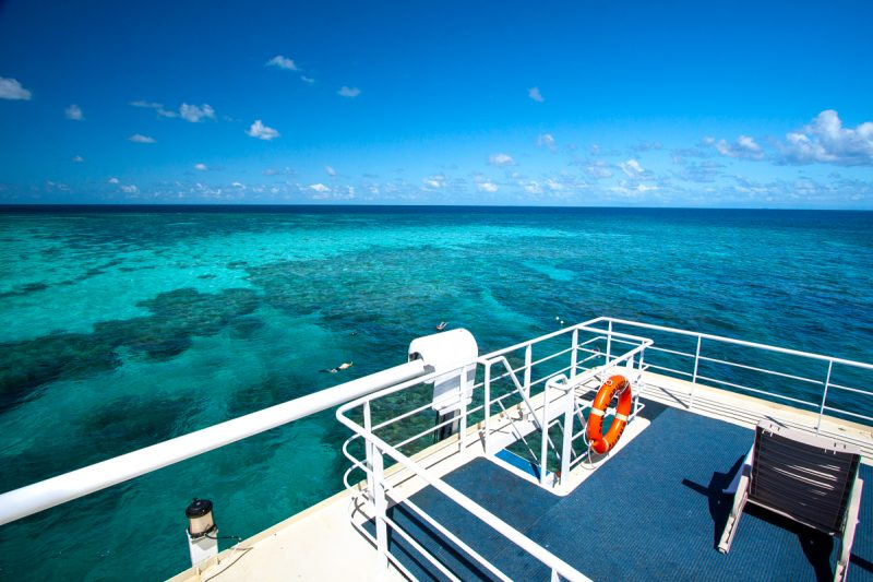 expedition cruising the Great Barrier Reef
