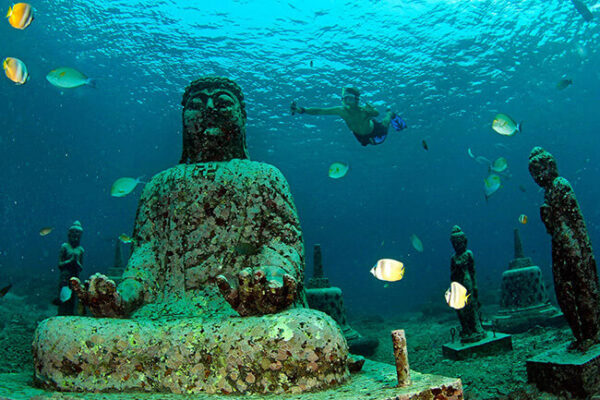 Underwater Temple, Bali | Source Bali Bible | Travel Boating Lifestyle
