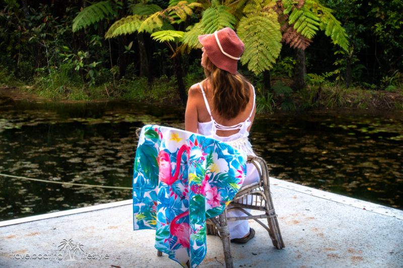 Tesalate Beach Towel | Travel Boating Lifestyle