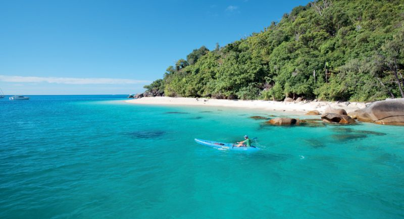 Great Barrier Reef | Fitzroy Island | Travel Boating Lifestyle | Photo TTNQ