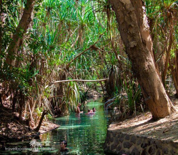 Katherine Hot Springs | Travel Boating Lifestyle | Fiona Harper travel writer