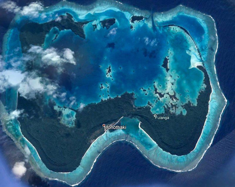 Fulaga Island Fiji Google Earth
