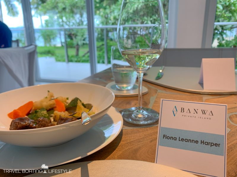 Lunch at Banwa Island | Travel Boating Lifestyle