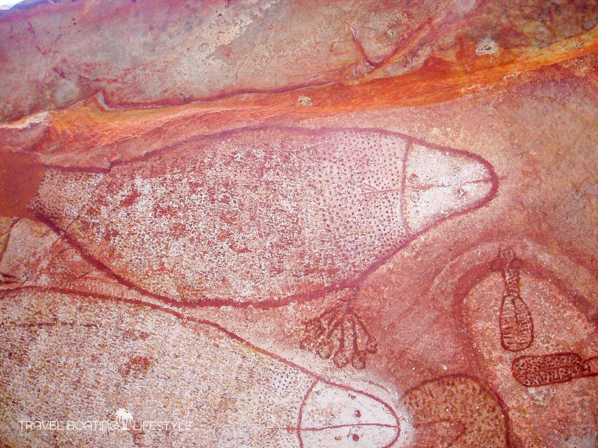 Raft Point rock art, Kimberley | West Australia | Travel Boating Lifestyle