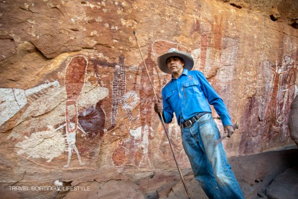 Jarramali Rock Art Laura | Quinkan Country Cape York | Travel Boating Lifestyle
