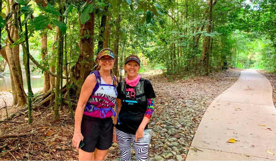 Running marathons in Cairns